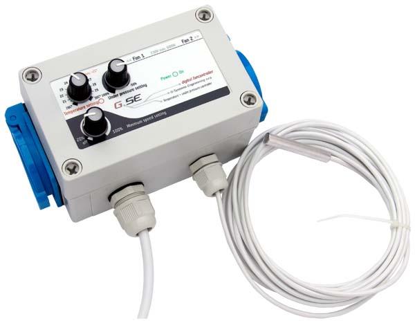 Regulátor teploty a podtlaku(aktivní přítah)