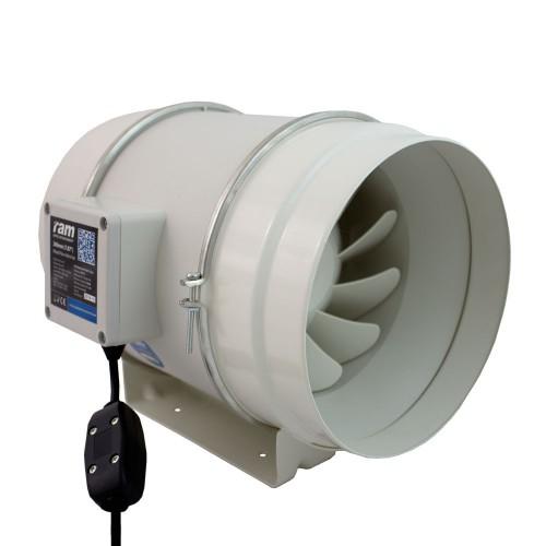 RAM Silent 100mm/240 m3+kabel