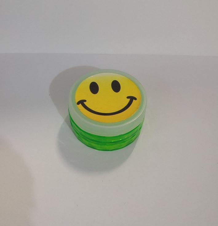Drtička plastová Green mix 5,5 cm smile