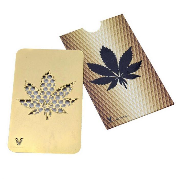 Drtička Credit Card Leaf Gold