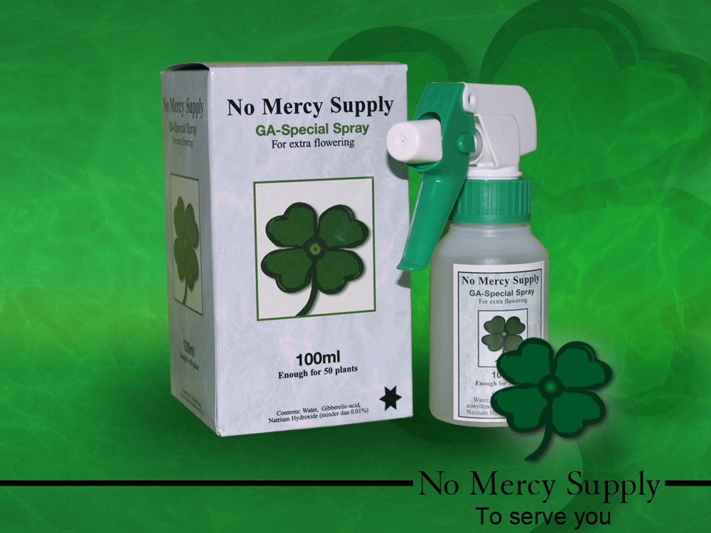 No Mercy Gibberellic spray,100ml