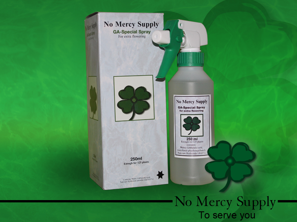 No Mercy Gibberellic spray,250ml