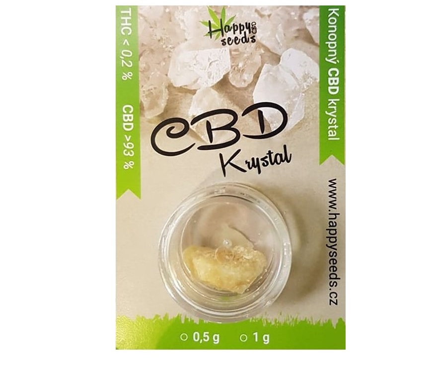 Happy seeds CBD Krystal (93% CBD)